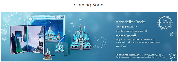 shopDisney Introduces MerchPass – An Opportunity to Purchase Limited Edition Items