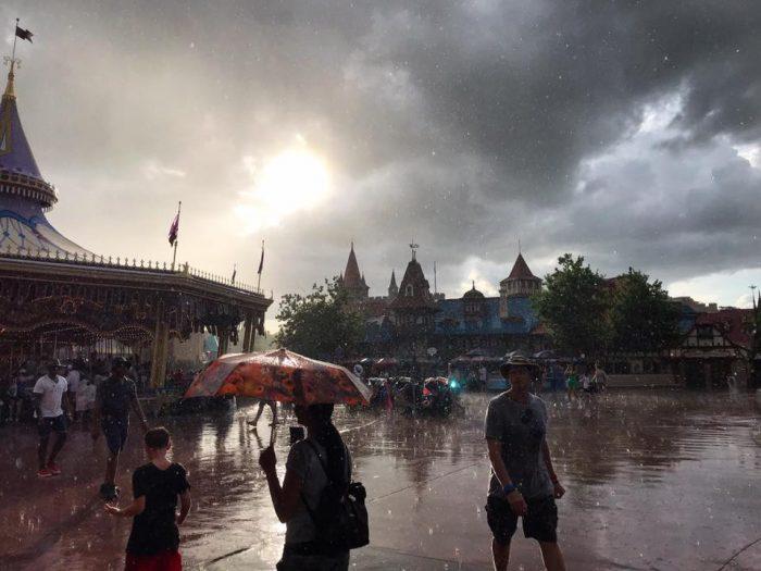 Rain in Fantasyland