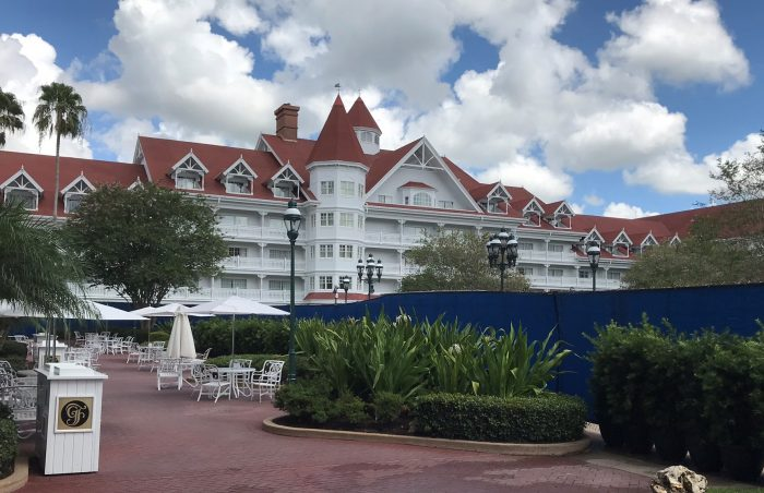 Grand Floridian Blue Wall