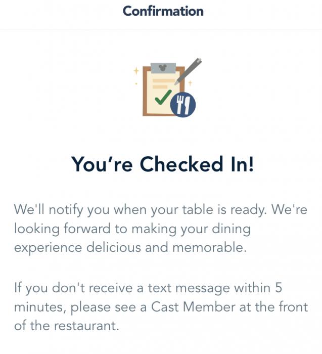 online resort check-in