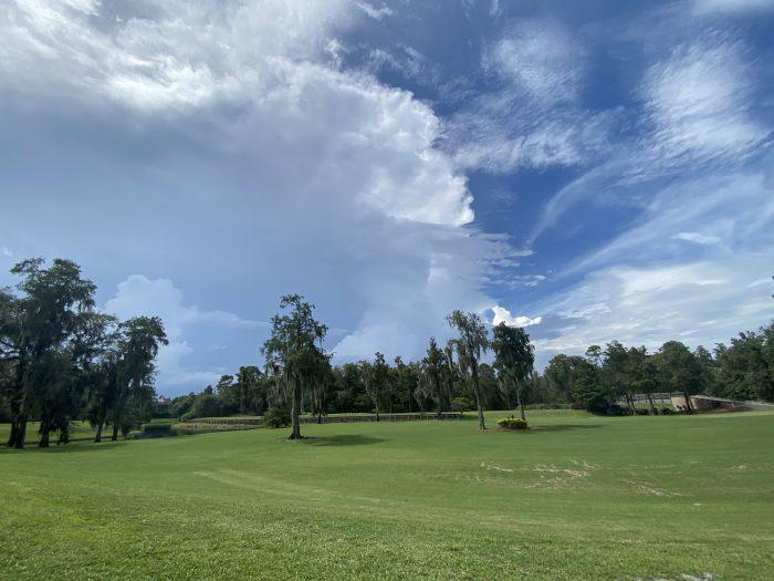 Storm over Lake Buena Vista Golf Course