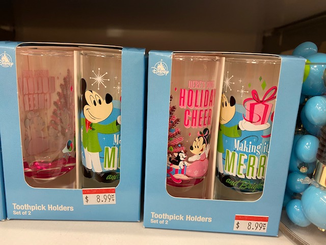 "Set of 2 ""toothpick"" holders. Original price unknown, marked down to $8.99 plus additional"
