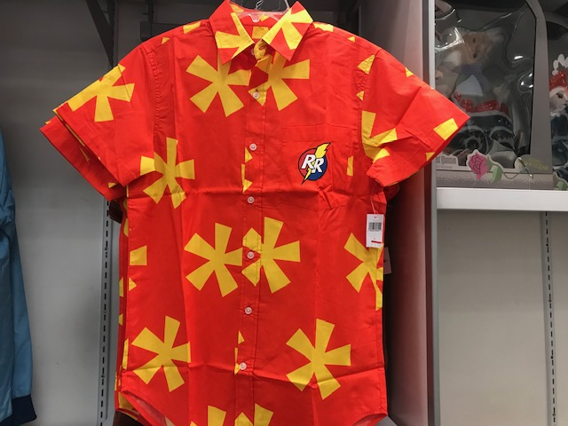 Rescue Rangers button up shirt. Originally $59.99, marked down to $16.99 + additiona