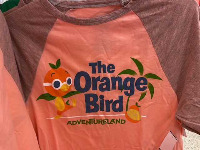 Orange Bird Adventureland shirt. Original price removed. Marked down to $11.99 plus additional