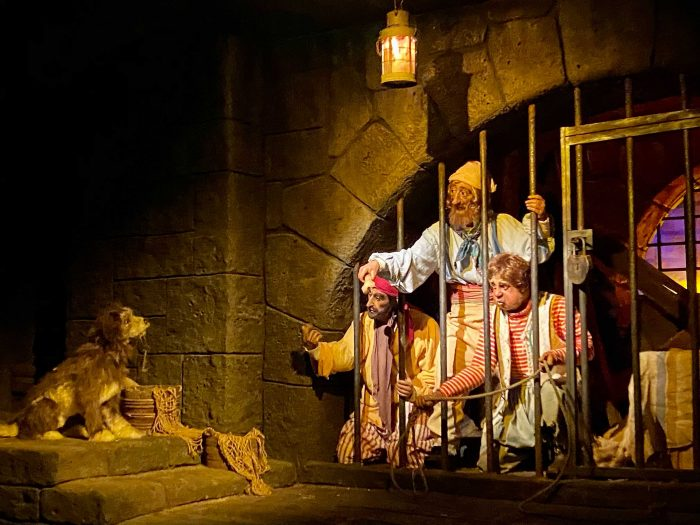 Ride picture from Pirates of the Caribbean