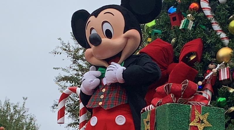 Disney Characters Christmas