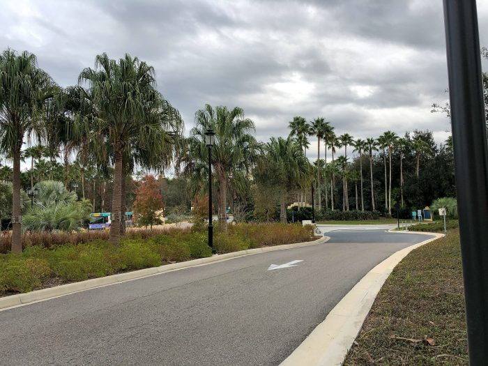 How to Walk from Disney's Coronado Springs to Blizzard Beach, Winter Summerland, and McDonald's