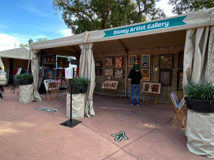 Changes to This Year's Artist Tents at Festival of the Arts