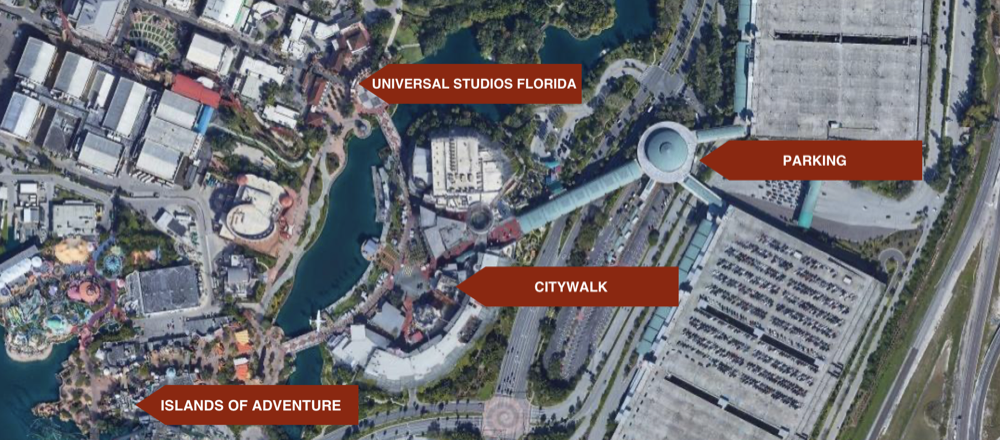 Universal Orlando Resort for Newbies – CityWalk citywalk map