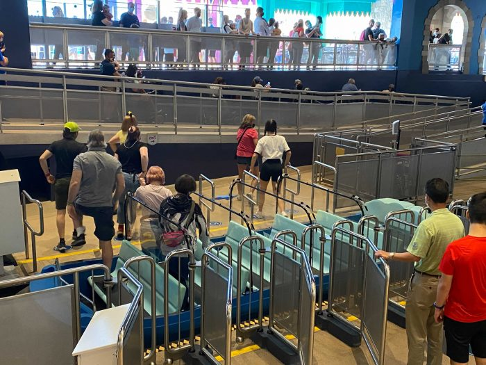 PHOTOS – An Increase in Capacity is Being Tested at it's a small world