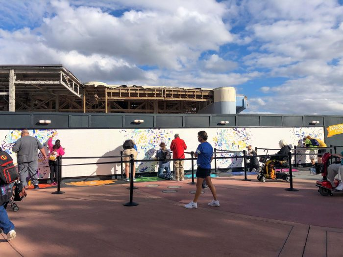 Paint by Number Mural: An EPCOT Festival of the Arts Favorite Returns