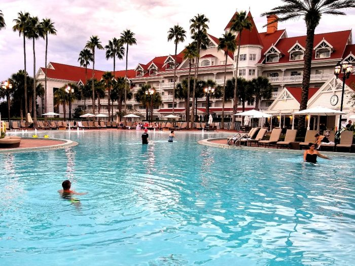 Picture of the Grand Floridian pool