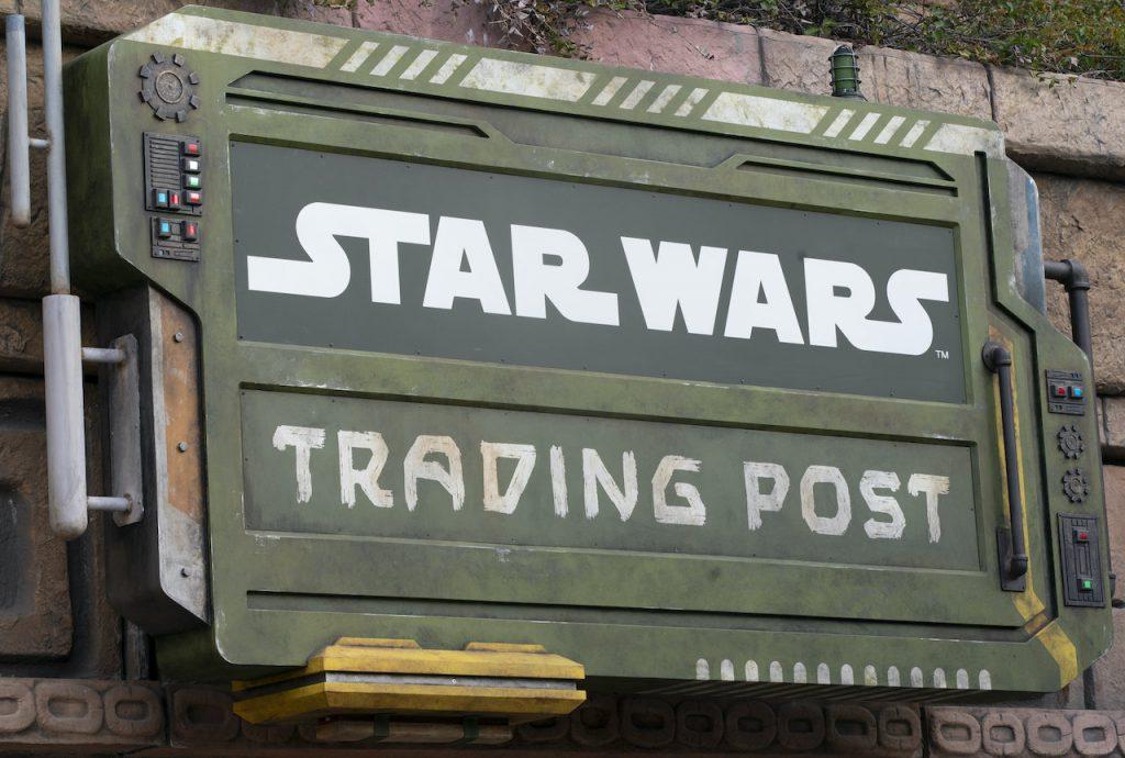 Star Wars Trading Post Disneyland