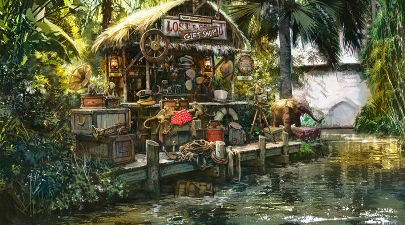 Jungle Cruise - Trader Sam's Gift Shop
