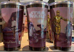 Picture of the metal Star Wars Rapid Fill mug, three sides