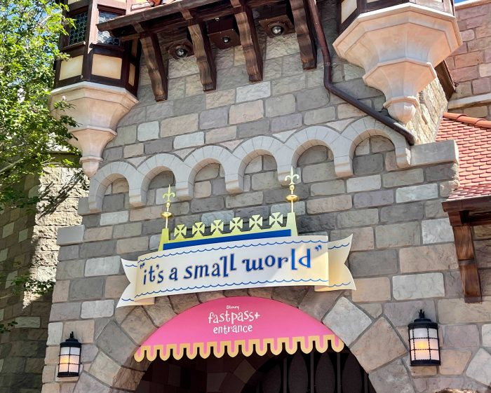 Entrance of it's a small world