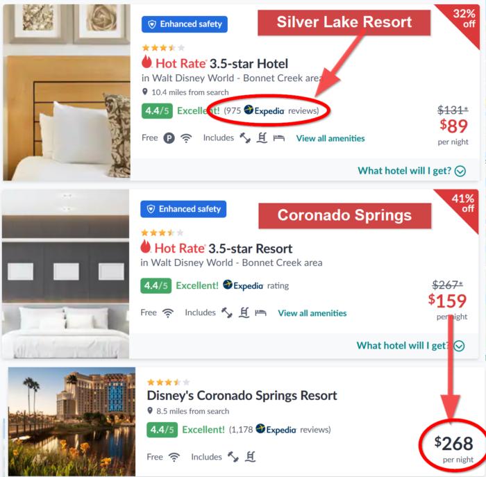 Coronado vs Silver Lake Example