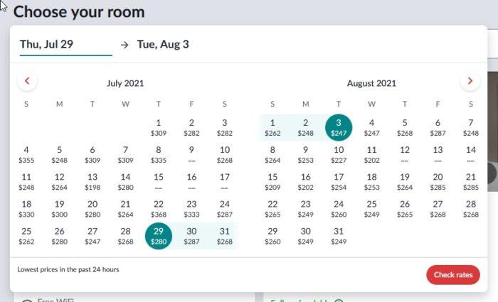 Hotwire CSR Date Picker