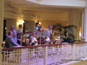 Jazz Band Outside Mizner's Lounge