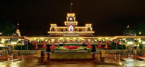 christmas mk lights - Disney Christmas Party 2015