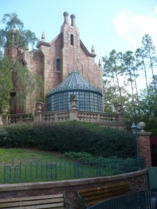 Whole Family - Haunted Mansion