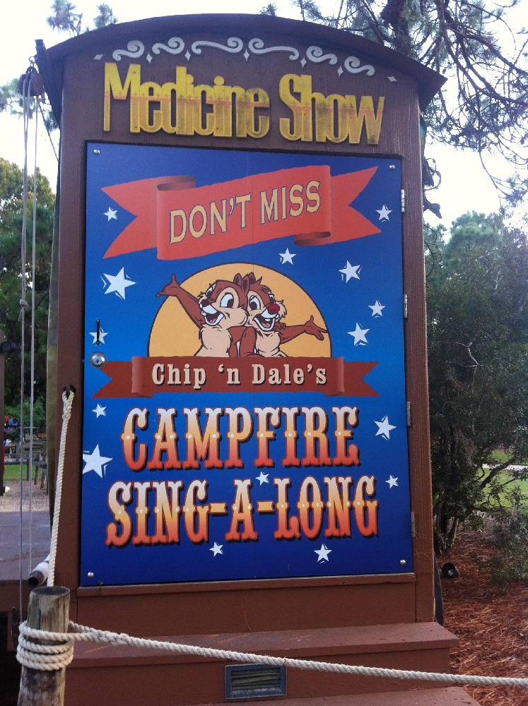 Chip 39 N Dale 39 S Campfire Sing A Long Blog