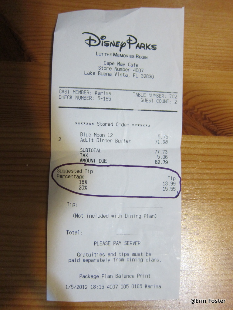 Frequently Asked Questions About Tipping At Walt Disney
