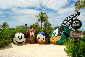 Mt. Rustmore at Castaway Cay. Photo - Laurel Stewart