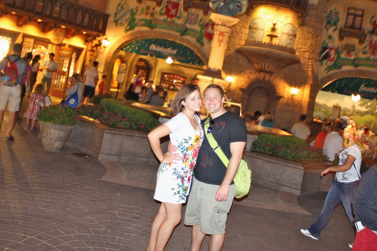 Romance in walt disney world touringplans blog i remember the very first time my husband and i went to walt disney world together we were just engaged and it was his first trip ever to a disney park kristyandbryce Choice Image