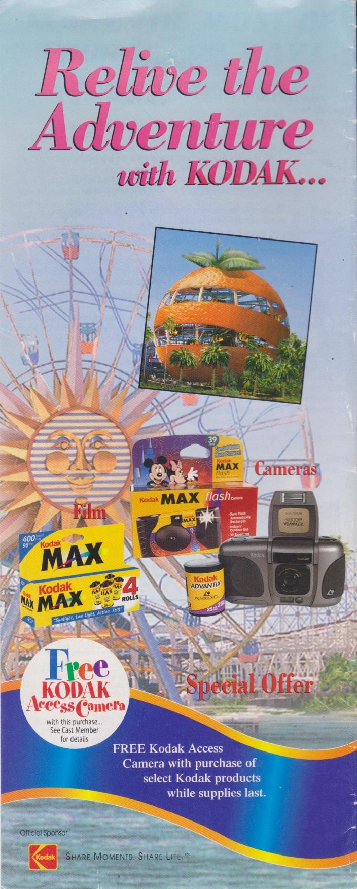 Disney Ephemera: 2001 Disney\'s California Adventure Guide Map ...