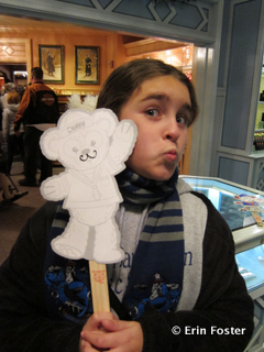 Get a Duffy on a stick at any Epcot Kidcot Fun Stop.