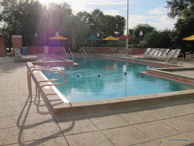 Caribbean Beach Resort, Jamaica Village quiet pool