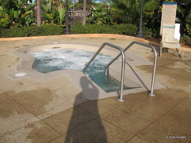 Caribbean Beach Resort, hot tub