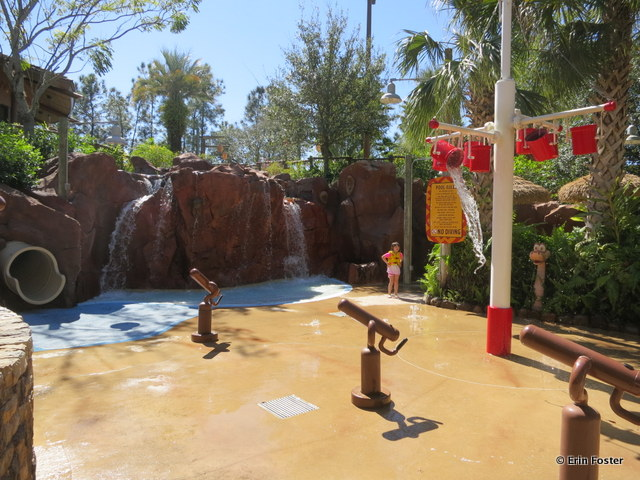 Animal Kingdom Lodge, Kidani Village, children's water play area
