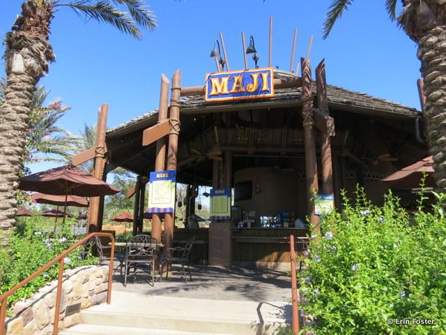 Animal Kingdom Lodge, Kidani Village, Maji pool bar