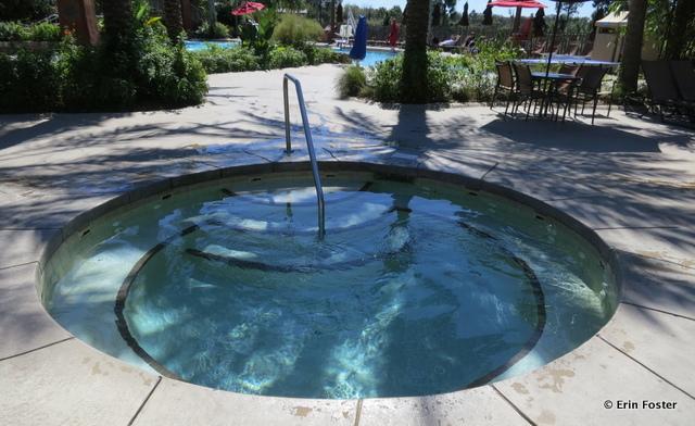 Animal Kingdom Lodge, Kidani Village hot tub