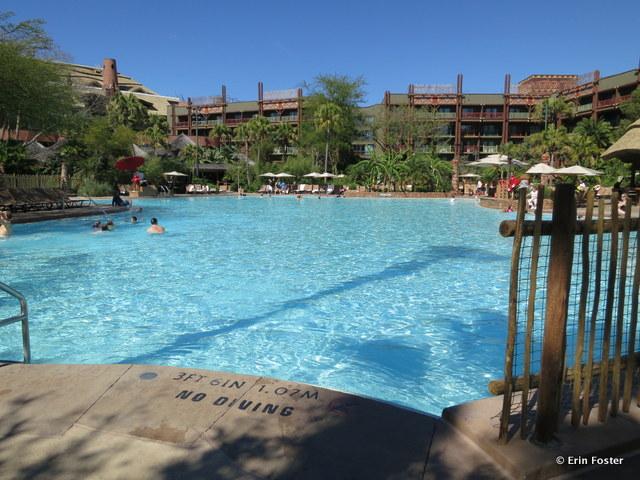 Animal Kingdom Lodge, Jambo main pool