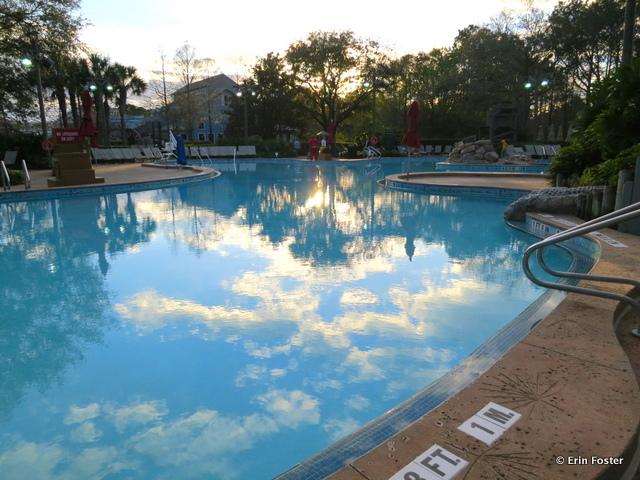Port Orleans Riverside, Ol' Man Island feature pool