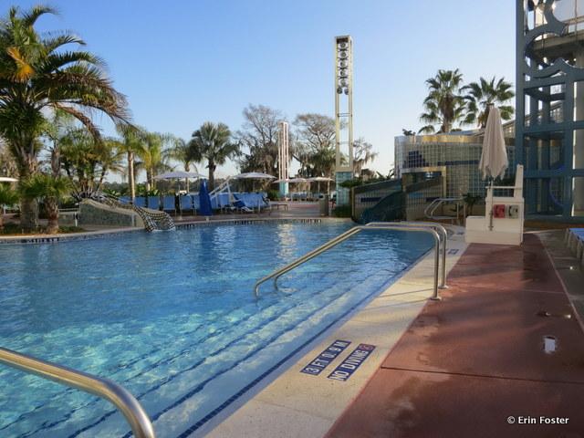 Contemporary, Bay Lake Tower Villas pool