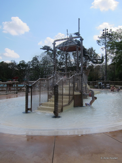 Fort Wilderness, Meadow pool area, children's aquatic play area