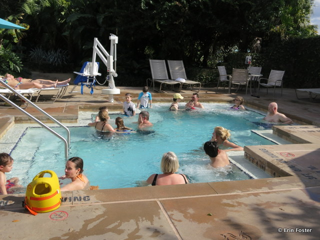 Coronado Springs resort, Dig Site hot tub