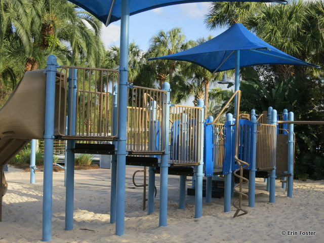 Old Key West, feature pool playground