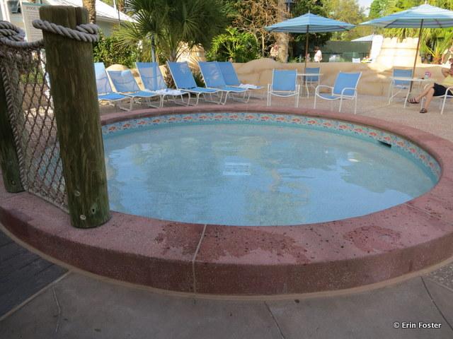 Old Key West, kiddie pool