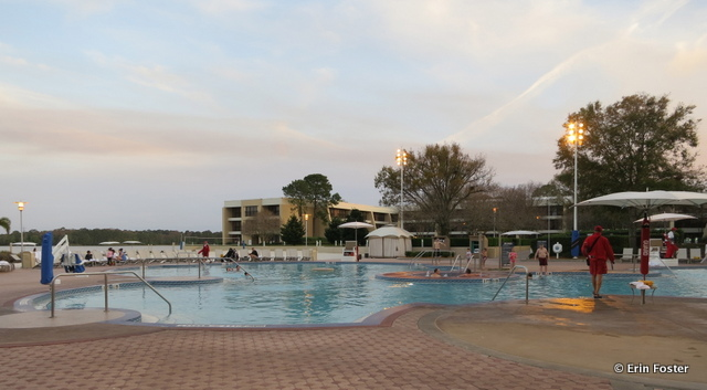 Contemporary, main pool