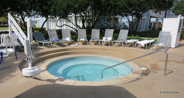 Beach Club, quiet pool, hot tub