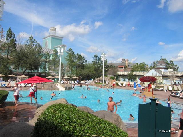 Saratoga Springs, High Rock pool