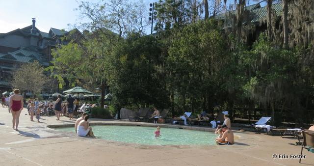 Wilderness Lodge, kiddie pool