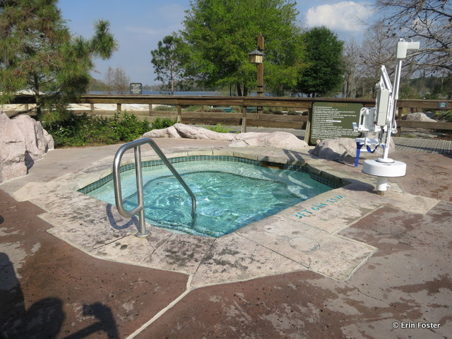 Wilderness Lodge, hot tub