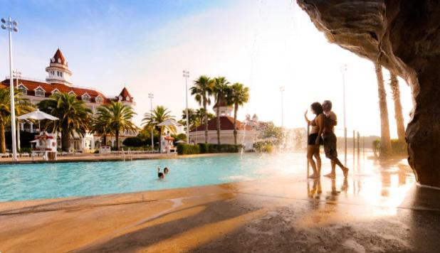 Grand Floridian, Beach Pool, ©Disney