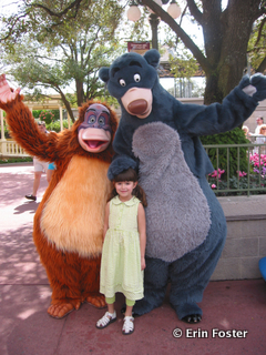 Characters are often much larger than children.